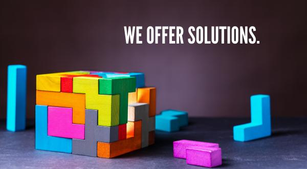 2 We offer Solutions.