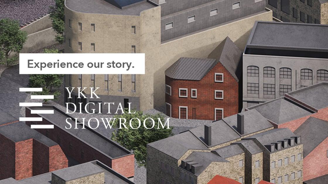 YKK Digital Showroom Banner